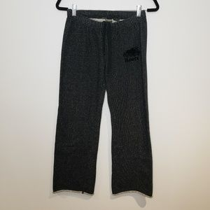 Roots Wide Leg Sweatpants Size XS